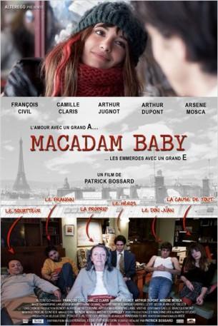 Thomas est un jeune écrivain en herbe qui décide de monter à Paris pour rencontrer un éditeur.  Il rencontre Julie, et va découvrir pour la première fois l'amour avec un grand A. Ce qu'il ignore, c'est que Julie est dans les problèmes jusqu'au cou et qu'en voulant l'aider, il va mettre les pieds dans les emmerdes avec un grand E...  Film français de Patrick Bossard, sorti en France le 12 février 2014, avec François Civil, Camille Claris, Arthur Jugnot et Arsène Mosca.  LIRE LA CRITIQUE
