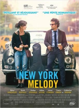 Gretta et son petit ami viennent de débarquer à NYC pour y vivre pleinement leur passion : la musique.  Le rêve va se briser et l'idylle voler en éclat quand, aveuglé par la gloire naissante, il va la plaquer pour une carrière solo et... une attachée de presse.  Ses valises prêtes et son billet de retour pour Londres en poche, elle décide de passer une dernière nuit à New York avec son meilleur pote.  Ce dernier l'emmène dans un pub, et la force à chanter. Dans la salle un producteur qui vient de perdre son job dans une maison de disque, entend cette voix...   Film américain de John Carney, sorti en France le 30 juillet 2014, avec Keira Knightley, Mark Ruffalo, James Corden, Hailee Steinfeld et Catherine Keener.  LIRE LA CRITIQUE