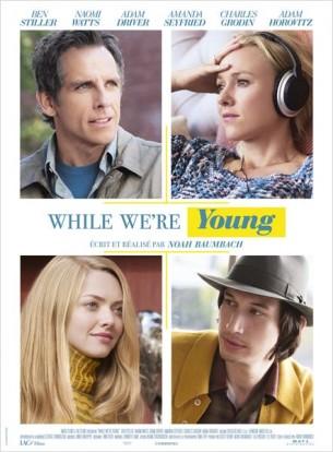 Josh et Cornelia Srebnick, la quarantaine new-yorkaise, sont mariés et heureux en ménage.  Ils n'ont pas réussi à avoir d'enfants mais s'en accommodent. Alors que Josh s'acharne sur le montage de son nouveau documentaire, il devient évident que l'inspiration n'est pas au rendez-vous. Il lui manque quelque chose…  La rencontre de Jamie et Darby, un jeune couple aussi libre que spontané, apporte à Josh une bouffée d'oxygène et ouvre une porte vers le passé et la jeunesse qu'il aurait aimé avoir.  Film américain de Noah Baumbach, sorti en France le 22 juillet, avec Ben Stiller, Naomi Watts, Adam Driver et Amanda Seyfried.  LIRE LA CRITIQUE