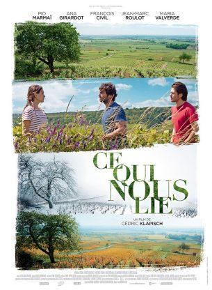 En apprenant la mort imminente de son père, Jean revient dans la terre de son enfance.  Il retrouve sa sœur, Juliette, et son frère, Jérémie. Leur père meurt juste avant le début des vendanges.  En l'espace d'un an, au rythme des saisons qui s'enchaînent, ces 3 jeunes adultes vont retrouver ou réinventer leur fraternité, s'épanouissant et mûrissant en même temps que le vin qu'ils fabriquent.  Film français de Cédric Klapisch, sorti le 14 juin 2017 avec Pio Marmai, Ana Girardot, François Civil, Jean-Marc Roulot et María Valverde.  LIRE LA CRITIQUE