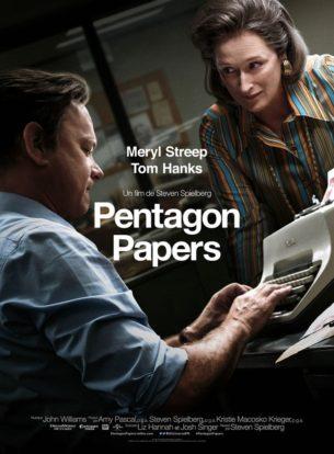 Première femme directrice de la publication d'un grand journal américain, le Washington Post, Katharine Graham s'associe à son rédacteur en chef Ben Bradlee pour dévoiler un scandale d'État monumental et combler son retard par rapport au New York Times qui mène ses propres investigations.  Ces révélations concernent les manœuvres de quatre présidents américains, sur une trentaine d'années, destinées à étouffer des affaires très sensibles…   Film américain de Steven Spielberg, sorti en France le 24 janvier 2018 avec Meryl Streep, Tom Hanks, Sarah Paulson et Bob Odenkirk.  LIRE LA CRITIQUE