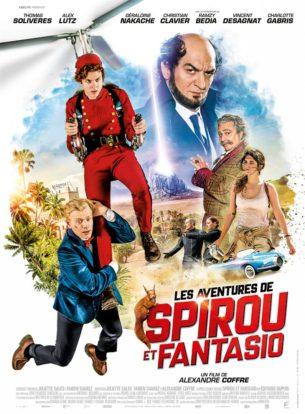 Lorsque Spirou, prétendu groom dans un Palace, rencontre Fantasio, reporter en mal de scoop, tout commence très fort… et plutôt mal ! Ces deux-là n'ont aucune chance de devenir amis. Pourtant, quand le Comte de Champignac, inventeur aussi génial qu'excentrique, est enlevé par les sbires de l'infâme Zorglub, nos deux héros se lancent aussitôt à sa recherche.  Film français de Alexandre Coffre, sorti en France le 21 février, avec Thomas Solivérès, Alex Lutz, Ramzy Bedia, Christian Clavier et Géraldine Nakache.  LIRE LA CRITIQUE