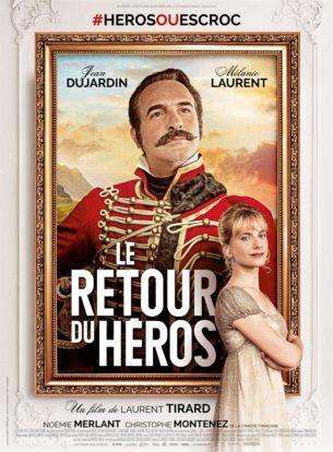 Elisabeth est droite, sérieuse et honnête. Le capitaine Neuville est lâche, fourbe et sans scrupules. Elle le déteste. Il la méprise. Mais en faisant de lui un héros d'opérette, elle est devenue, malgré elle, responsable d'une imposture qui va très vite la dépasser…  Film français de Laurent Tirard, sorti en France le 14 février 2018, avec Jean Dujardin, Mélanie Laurent, Noémie Merlant et Féodor Atkine.  LIRE LA CRITIQUE