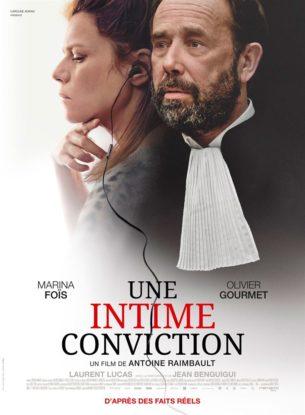 Depuis que Nora a assisté au procès de Jacques Viguier, accusé du meurtre de sa femme, elle est persuadée de son innocence. Craignant une erreur judiciaire, elle convainc un ténor du barreau de le défendre pour son second procès, en appel. Ensemble, ils vont mener un combat acharné contre l'injustice. Mais alors que l'étau se resserre autour de celui que tous accusent, la quête de vérité de Nora vire à l'obsession.  Film français de Antoine Raimbault, sorti en France le 6 février, avec Marina Foïs, Olivier Gourmet et Laurent Lucas.  LIRE LA CRITIQUE