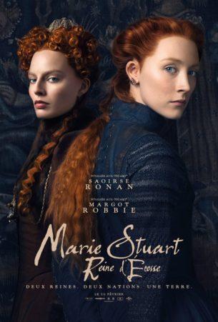 Le destin tumultueux de la charismatique Marie Stuart.  Épouse du Roi de France à 16 ans, elle se retrouve veuve à 18 ans et refuse de se remarier conformément à la tradition. Au lieu de cela elle repart dans son Écosse natale réclamer le trône qui lui revient de droit. Mais la poigne d'Élisabeth Iʳᵉ s'étend aussi bien sur l'Angleterre que l'Écosse. Les deux jeunes reines ne tardent pas à devenir de véritables sœurs ennemies et, entre peur et fascination réciproques, se battent pour la couronne d'Angleterre.  Film américano-britannique de Josie Rourke, sorti en France le 27 février 2019, avec Saoirse Ronan, Margot Robbie, Jack Lowden et David Tennant.  LIRE LA CRITIQUE