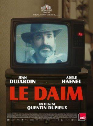 Georges, 44 ans, et son blouson, 100% daim, ont un projet.  Film français de Quentin Dupieux, avec Jean Dujardin, Adèle Haenel, Albert Delpy.  LIRE LA CRITIQUE