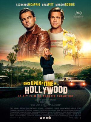 En 1969, la star de télévision Rick Dalton et le cascadeur Cliff Booth, sa doublure de longue date, poursuivent leurs carrières au sein d'une industrie qu'ils ne reconnaissent plus.  Film américain de Quentin Tarantino, sorti en France le 14 Août 2019 avec  Leonardo DiCaprio, Brad Pitt et Margot Robbie.  LIRE LA CRITIQUE
