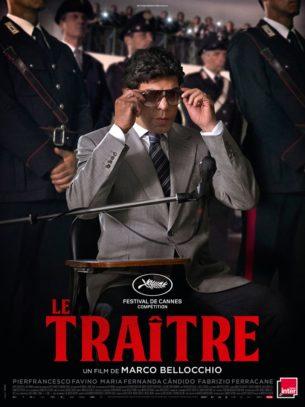 Au début des années 1980, la guerre entre les parrains de la mafia sicilienne est à son comble. Tommaso Buscetta, membre de Cosa Nostra, fuit son pays pour se cacher au Brésil.  Pendant ce temps, en Italie, les règlements de comptes s'enchaînent, et les proches de Buscetta sont assassinés les uns après les autres. Arrêté par la police brésilienne puis extradé, Buscetta, prend une décision qui va changer l'histoire de la mafia. Film italien de Marco Bellocchio, sorti en France le 30 octobre 2019 avec Pierfrancesco Favino, Maria Fernanda Cândido et Fabrizio Ferracane.  LIRE LA CRITIQUE