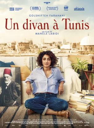 """Après avoir exercé en France, Selma, 35 ans, ouvre son cabinet de psychanalyse dans une banlieue populaire de Tunis.  Au lendemain de la Révolution, la demande s'avère importante dans ce pays « schizophrène ».  Mais entre ceux qui prennent Freud et sa barbe pour un frère musulman et ceux qui confondent séances tarifées avec """"prestations tarifées"""", les débuts du cabinet sont mouvementés…  Film franco-tunisien de Manele Labidi, sorti en France le 12 février 2020, avec Golshifteh Farahani, Majd Mastoura et Aïcha Ben Miled.  LIRE LA CRITIQUE"""